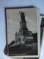 Duitsland Deutschland Hessen Rüdesheim Nationaldenkmal Photokarte - Ruedesheim A. Rh.