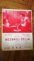HUNGARY Composer Film Scores Szabolcs Fényes YUGOSLAVIA VINTAGE MUSIC SHEET BOOK SONG TOPATRY LATOMAS TANGO HABANERA - Altri Oggetti