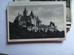 Duitsland Deutschland Sachsen Anhalt Wernigerode Grosses Schloss - Wernigerode