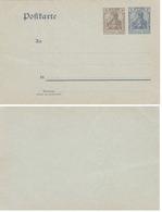 2 ENTIERS CARTES POSTAL NEUF - Briefe U. Dokumente