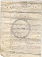 /!\ 1333 - Parchemin - 1744 - Commune De Creil (Oise) - Manoscritti