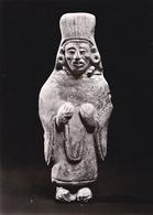 (654) Museum Für Völkerkunde München Stehende Figur Mitla Zapotekisch - Musées