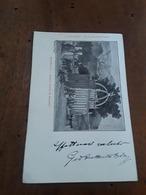Cartolina Postale 1903, Sassari, Rosello - Sassari