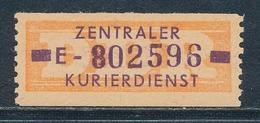 DDR Dienstmarken B 22 Kennbuchstabe E Original ** Geprüft Weigelt Mi. 20,- - Dienstpost