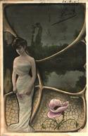 Femme Photo - 740 H Manuel Décor Art Nouveau - Femmes