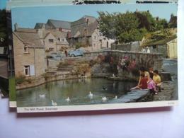Engeland England Dorset Swanage  The Mill Pond - Swanage
