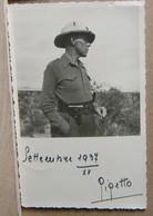 MONDOSORPRESA, ( FT11) FOTOGRAFIA, MILITARE GIGETTO, ABISSINIA, ETIOPIA, 1937 - Guerra, Militari