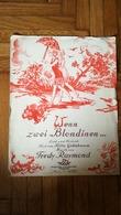 FREDY RAYMOND WENN ZWEI BLONDINEN WIENER BOHEME VERLAG OTTO HEIM WIEN VINTAGE MUSIC SHEET BOOK SONG FOXTROT DANCE GERMAN - Altri Oggetti