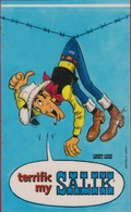 Sticker Strip Stripfiguur Lucky Luke Autocollant Morris Dargaud Publicité SALIK Jolly Jumper Spirou Bande Dessinée BD - Autocollants