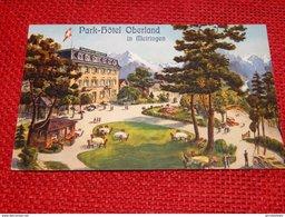MEIRINGEN  -  Park-Hôtel  Oberland - BE Berne
