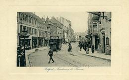 90 - BELFORT - Faubourg De France. Tram - Belfort - Stadt