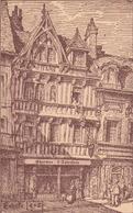Coutances 13 Rue Tancrède Atena André Lecouen Charmes D Autrefois Par Emile Leroy Ou Lerol - Coutances