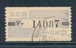DDR Dienstmarken B 26 Kennbuchstabe V Gestempelt Geprüft Weigelt Mi. 75,- - DDR