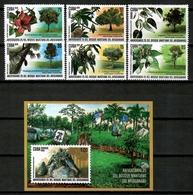 Cuba 2019 / Trees Flowers MNH Árboles Flores Blume Bäume Arbres Fleurs / Cu14517  C4-5 - Árboles