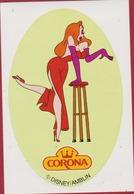 Sticker Autocollant Jessica Rabbit Movie Film Walt Disney Who Framed Roger Rabbit Corona Pin-Up Aufkleber Adesivo - Autocollants