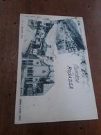 Cartolina Postale D'epoca, Rosazza, Panorama, Entrata E Chiesa - Biella