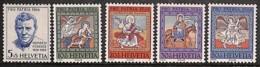[811598]Suisse 1966 - N° 769/73, Scènes Religieuses, SC, Pro Patria - Nuovi