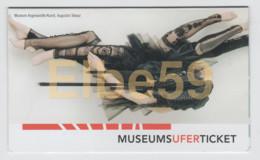 Frankfurt Am Main, MUSEUMS-UFER-TICKET, Individuelle Eintrittskarte In Museen - Biglietti D'ingresso