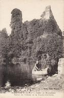 Plancoët Vallée De Montafilant Ruines Du Chateau (personnage Navigue Dans Un Tonneau) CPA - Plancoët