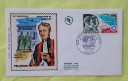 FRANCE Medecine, Découverte De La Quinine. Yvert N° 1633, FDC, Enveloppe 1 Er Jour SUR SOIE 1970 Paris - Medizin