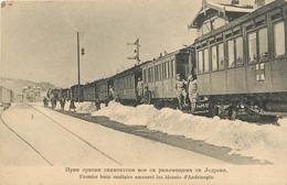 SERBIE - Premier Train Sanitaire Amenant Les Blessés D'Andrinople. - Serbia