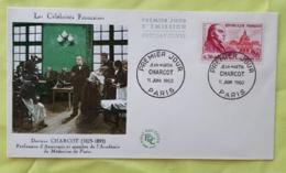 FRANCE Medecine, CHARCOT,Yvert N° 1260, FDC, Enveloppe 1 Er Jour 1960 - Medizin