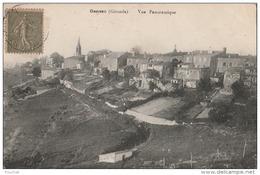 N26- 33) GENSAC (GIRONDE)  VUE PANORAMIQUE - Otros Municipios