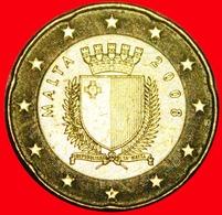 + FRANCE (2008-2019): MALTA ★ 20 EURO CENT 2008F NORDIC GOLD! LOW START ★ NO RESERVE! - Malta