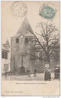 OP3- 63)  EGLISE DU MONTEL DE GELAT  -  (ANIMÉE) - Autres Communes