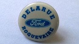 Ford - Garage Delarue à Roquevaire - Peugeot (Cameléon Bleu) - Mercedes (PL) - Pin's