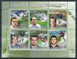 NB - [401746]TB//**/Mnh-Sao Tomé-et-Principe 2009 - Coupe Du Monde De Rugby - Rugby