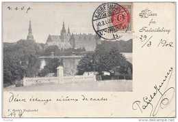 Q31- HILSEN FRA FREDERIKSBORG (DANEMARK)   - (OBLITERATION DE 1902) - Danimarca