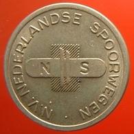 KB311-2 - NS N.V. NEDERLANDSE SPOORWEGEN - Utrecht - WM 22.5mm - Coffee Machine Token - Railways - Eisenbahnen - Professionnels/De Société