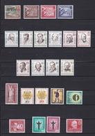 Berlin - 1957/58 - Sammlung - Postfrisch - 28 Euro - Neufs