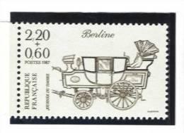 """France 2468 Neuf ** """"journée Du Timbre 1987"""" (cote 1,40€) - France"""