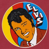 Sticker Autocollant Artist Singer Chanteur Elvis Presley Aufkleber Adesivo - Autocollants