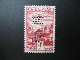 Perforé Perfin Maroc , Perforation :  BM ????  à Voir - Maroc (1891-1956)