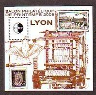 BLOC CNEP 2008 N° 50 **- SALON PHILATELIQUE PRINTEMPS LYON BLASON METIER A TISSER - CNEP