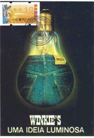 CARTE MAXIMUM - MAXICARD - MAXIMUM KARTE - MAXIMUM CARD - MACAO / MACAU - LUBRAPEX 2003 - ENERGIE - Used Stamps