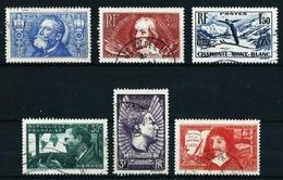 Francia Nº 319-330-334-337/8-341 Usado Cat.15,25€ - Used Stamps