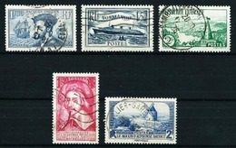 Francia Nº 297-299-301-305-311 Usado - Used Stamps