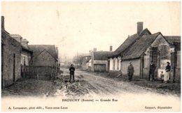 80 BROUCHY - Grande Rue - Other Municipalities