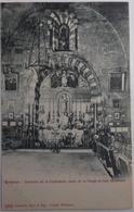 Embrun - Interieur De La Cathédrale, Autel De La Vierge En Face En Entrant - Embrun