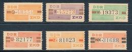 DDR Dienstmarken B V - X ** Geprüft Weigelt Mi. 30,- - [6] Repubblica Democratica