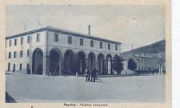 RASSINA-AREZZO-PALAZZO COMUNALE-CARTOLINA VIAGGIATA IL 1-8-1951-CARTOLINA PRODOTTA NEGLI ANNI 40 - Arezzo