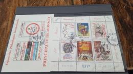 LOT 469424 TIMBRE DE MONACO NEUF** PREMIER JOUR BLOC - Colecciones & Series