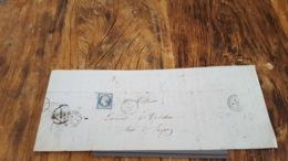 LOT 469446 TIMBRE DE FRANCE OBLITERE BLOC - 1853-1860 Napoléon III