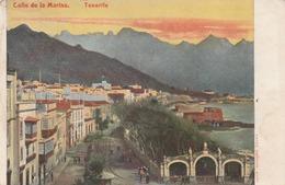 Carte Postale Ancienne D'Espagne - Iles Canaries - Tenerife - Calle De La Marina - Tenerife