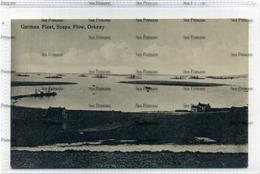 Orkney Kirkwall 1910s Postcard German  Fleet In Bay Scapa Flow - Orkney
