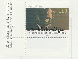 PIA - GER- 2000 : 125° Anniversario Della Nascita Del Dr. Albert Schweitzer - (Yv 1921) - [7] Repubblica Federale